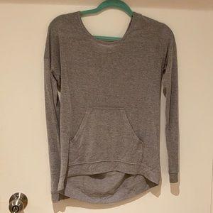 Kirra Pocket Grey Long Sleeve